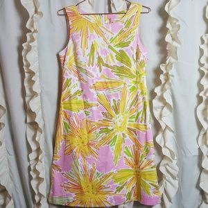 Lilly Pulitzer Skipping on Sunshine sheath dress